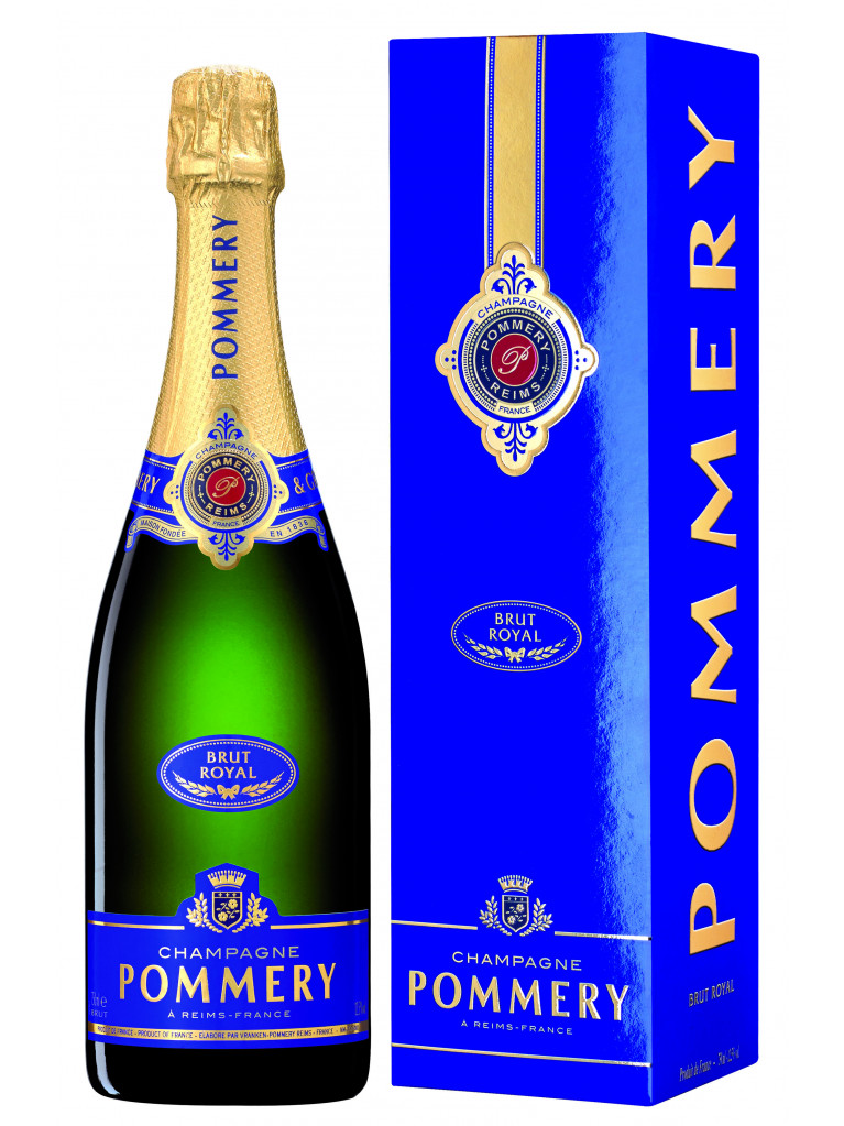 POMMERY BRUT ROYAL in Geschenkpackung