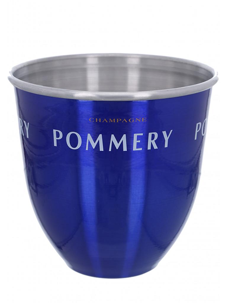 POMMERY Kühler Aluminium Blau